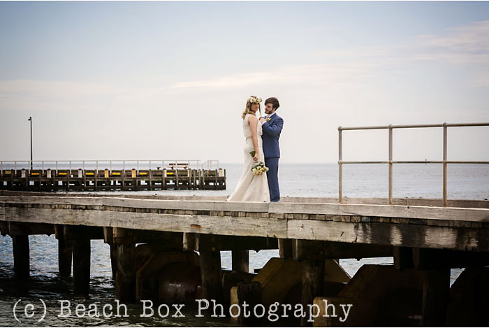 wedding styled shoot Portsea beach