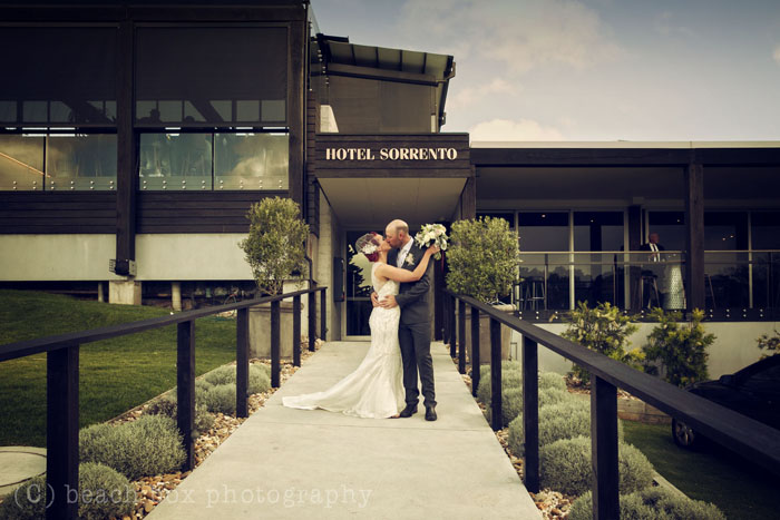 Michelle and Rhys Sorrento Wedding