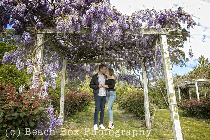 Daniela and Eric's Proposal Shoot at Dalywaters Garden Chapel