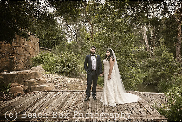 Sheena and Jason's wedding at Potters Receptions in Warrandyte