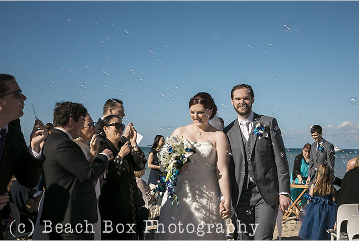 Laura and Tom wedding The Baths Sorrento Mornington Peninsula